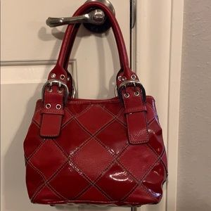 Tignanelle Red leather purse